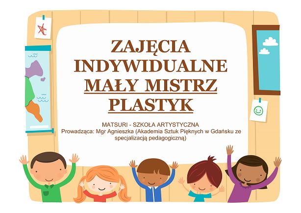 Zajęcia indywidualne - Mały Mistrz Plastyk - link do str. kursu